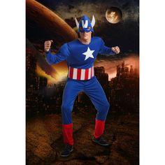 Déguisement Captain America #déguisementsadultes #costumespouradultes #nouveauté2015