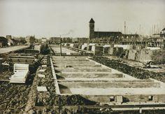Olmendaal in aanbouw. Rotterdam, Railroad Tracks, Paris Skyline, Holland, History, Building, Travel, The Nederlands, Viajes