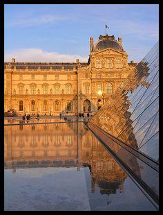 Favorite place in Paris - Louvre  Amazing Paris  http://www.travelandtransitions.com/our-travel-blog/paris-2012/