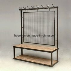 Metal Display Stand Retail Store Garment Shop Furniture, Find Details about Chrome Plated Display Stand, Double Sided Chrome Plated Display Racks from Metal Display Stand Retail Store Garment Shop Furniture - Xiamen Boson Industry and Trade Co. Pipe Furniture, Industrial Furniture, Furniture Design, Furniture Stores, Cheap Furniture, Pallet Furniture, Vintage Industrial, Furniture Ideas, Wood Steel