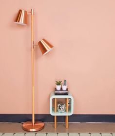 Blush and copper - Obsessed with the lamp