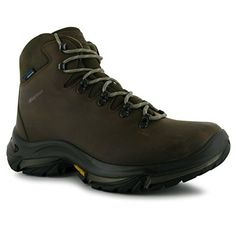 Karrimor Womens Ladies Cheviot Waterproof Walking Hiking Outdoors Shoes Boots Brown 8 42 -- You can get more details by clicking on the image.
