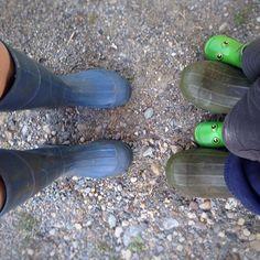 Family boot portrait #familyfarm #vermont #soVT #vt #rubberboots