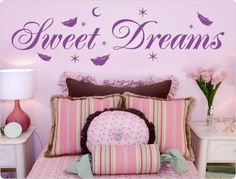 Wandtattoo Sweet Dreams (3)