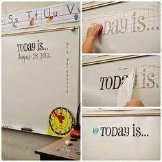 Classroom Organisation, Teacher Organization, Teacher Hacks, Teacher Tools, Classroom Management, Teacher Binder, Behavior Management, White Board Organization, Teacher Stuff