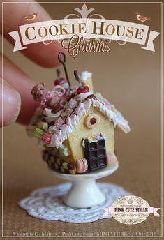 Valentina Gaia Manzo - PinkCute Sugar Miniatures: ➽ Cookie House