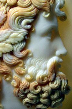 Cameo Jewelry, Skull Jewelry, Jewelry Art, Victorian Jewelry, Vintage Jewelry, Sculpture Art, Sculptures, Byzantine Gold, Roman Gods