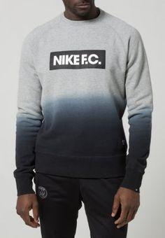 Nike Sportswear NIKE FC AW77 LS CREW - Sweatshirt - grey heather/black - ZALANDO.FR http://www.cuponation.fr/bon-plan/c-mode-10000?b=[34]