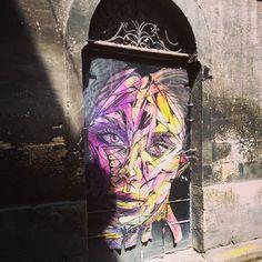 Dans mes rues..... #bordeaux #bordeauxmaville #streetart #picoftheday #beautiful #art by abezooers