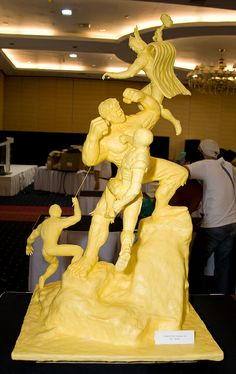 Butter Carving Waterfront Cebu By Chef Benjie Lanas   Flickr - Photo Sharing!