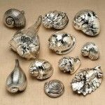 Spray All Of Those Leftover Shells With Silver Spray Paint And You Have An Expensive Looking Decorative Item.