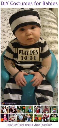 Homemade Costumes for Babies - Halloween costume contest via @costume_works