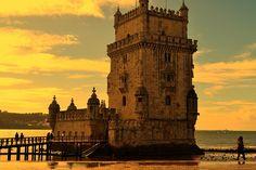 Tour de Belém, Lisbonne - #Portugal #Lisbonne