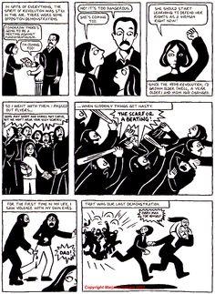 Persepolis comic by Marjane Satrapi