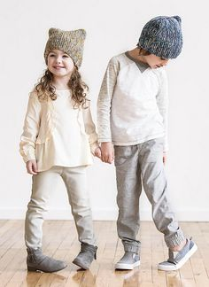 Easy knitting pattern! Spud & Chloe Best Buddies Hat Pattern using Fine and Stripey Fine Yarns