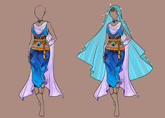 Custom Fashion for . (If this looks Loki-inspired it's because I am currently in the middle of a Marvel Marathon. ) (This outfit is to be used by the commissioner only.) Designs (c) azulann Art (c)...