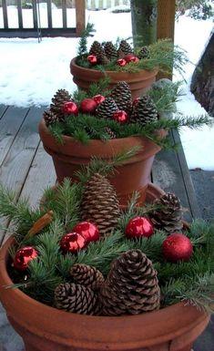 01 Awesome Outdoor Christmas Decor Ideas #outdoorchristmas
