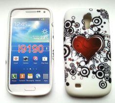 TPU-Case Cover für Samsung Galaxy S4 mini / i9190 Herz