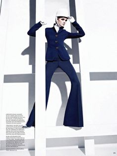 Out on a Limb   Lisa Cant   Gabor Jurina  #photography   Fashion Magazine September 2012
