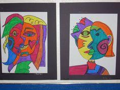 BluemoonPalette: Split Face Picasso Faces