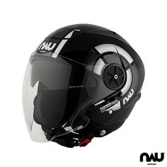 N500 STREET 1984-LV - Black&Grey |  (1984-SV Short Visor)