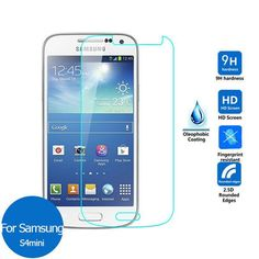 For Samsung Galaxy S4 mini Tempered glass Screen Protector 2.5 9h Safety Protective Film on s 4 s4mini i9190 E370 2.5D