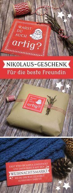 Gutschein für die beste Freundin zum Nikolaus!