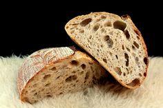 Vadkovászsuli: Hópárduc, hosszú érlelésű kovászos kenyér Bread, Food, Brot, Essen, Baking, Meals, Breads, Buns, Yemek