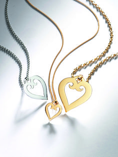 The Mellerio Heart Pendants by Mellerio dits Meller  #MellerioinLove #valentinesday #Vdaygiftguide #giftguide #jewellery