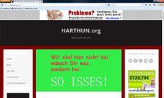 #HARTHUN.org! Willkommen auf der deutschen Version von #HARTHUN.org. Hier entsteht ein neuartiges Portal. Oder anders gesagt, eine MARKE. So, nun (…) Weiterlesen unter: http://www.harthun.org