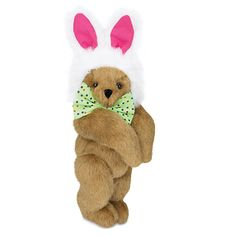 Hare Bear...he only comes out during Easter...so hopefully I can grab one while he's available! $59.99 at www.vermontteddybears.com