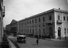 | Estação de Santa Apolónia [entre 1898 e 1908] Autor: Desconhecido
