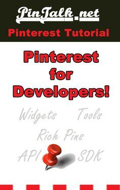 Pinterest for Developers - PinTalk.net  #Pinterest Tutorial Pinterest Tutorial, Web Technology, Pinterest Projects, Long Awaited, Pinterest For Business, Design Development, Pinterest Marketing, Social Media Tips, Display Ideas