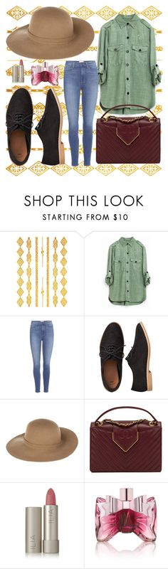 """Turtle lagoon"" by sillin7 ❤ liked on Polyvore featuring Paige Denim, Gap, Armani Jeans, Chanel, Ilia and Viktor & Rolf"