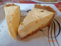 Torta de mousse de maracujá fácil
