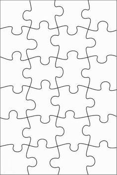 RobbyGurl's Creations: DIY Print, Color & Cut Jigsaw Puzzles – Regalos Puzzle Piece Crafts, Puzzle Pieces, Puzzle Art, Boyfriend Anniversary Gifts, Diy Gifts For Boyfriend, Puzzle Piece Template, Escape Room, Diy Birthday, Cut And Color
