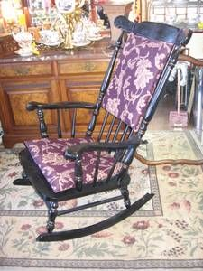 rocking chairs forward large rocking chair with new crackle black ...
