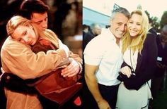 Joey and Phoebe then and now
