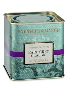 Fortnum & Mason Earl Grey Tea; it's one of my favorites! #williamssonoma