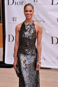 Misty Copeland Photos Photos - Ballerina Misty Copeland attends the American Ballet Theatre opening night Spring Gala at Lincoln Center on May 2013 in New York City. - Celebs at the American Ballet Spring Gala Beautiful Black Women, Amazing Women, Beautiful Things, Black Dancers, Lab, Black Ballerina, Cheap Gowns, American Ballet Theatre, Misty Copeland