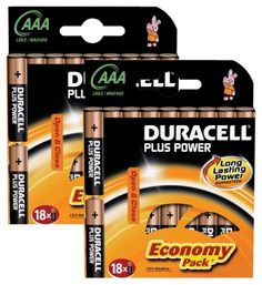 Duracell aa x 16 rechargeable batteries 3450 christmasbirthday duracell plus power mn2400 alkaline aaa batteries 36 pack fandeluxe Choice Image