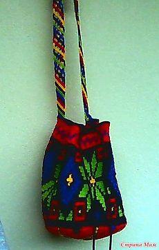 Мочила №2 - Жаккард вяжем крючком - Страна Мам Knit Crochet, Crochet Bags, Mom, Knitting, Stitches, Country, Fashion, Bags, Crochet Purses