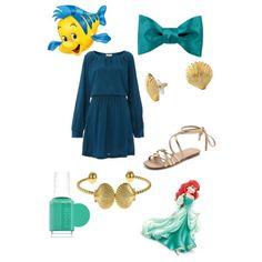 Ariel-Zarah Palmer by zpalmer2015 on Polyvore featuring polyvore, fashion, style, Linea Weekend, Splendid, Fornash, Essie, C. Wonder and Disney
