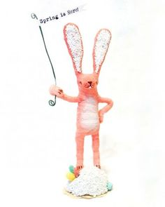 """See the """"Spun-Cotton Easter Bunny"""" in our Easter Table Crafts and Favors gallery"""