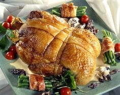 Canette foie gras et sauce morilles Menu Noël N°11 : Canette de fêtes
