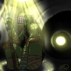 Donatello does machines by *The-TAE on deviantART