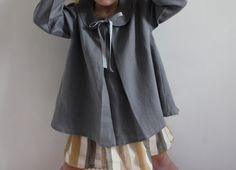 Love the grey, the stripe, the collar, the ribbon....The Princess and the Pea: SPRING SUMMER 2013 COLLECTION