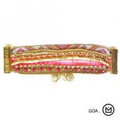 Bracelet Goa Hipanema - collection été 2014 - en vente sur www.lilishopping.com #hipanema #goa