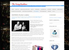 The Young Creative's blog interview co-founders of Pocket London  Edward Page and Louise Thompson