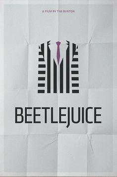 Beetlejuice (1988) planos rectilineos